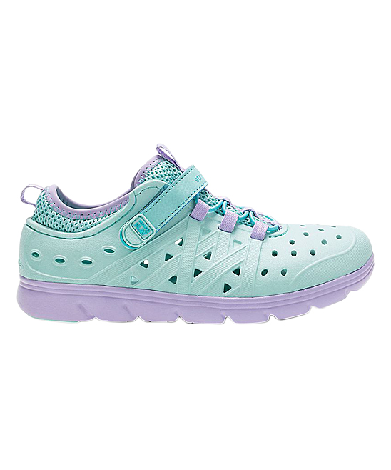 488701b81df ... Girls TURQUOISE Turquoise Made2Play Phibian Sneaker Sandal - Alternate  Image 3 ...