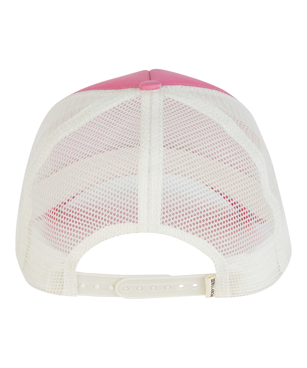 bd535a0178d27 ... Womens THINK PINK Think Pink Wave Trucker Hat - Alternate Image 2
