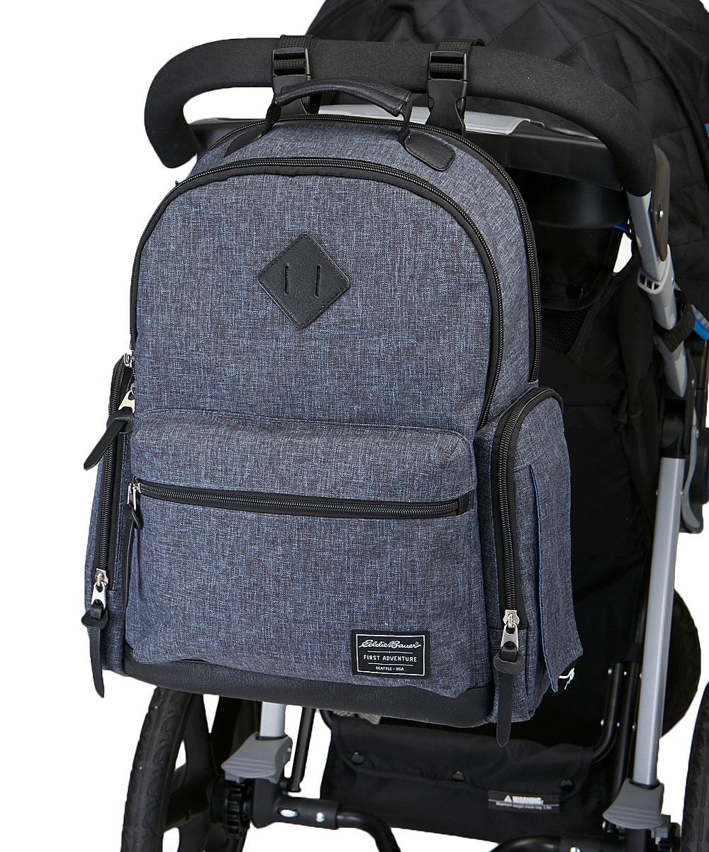 cdcc6dcc91 ... GREY Gray Bridgeport Backpack Diaper Bag - Alternate Image 4 ...