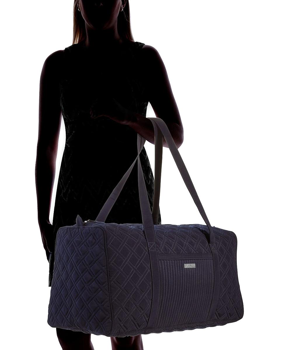 17ddd80363 ... Womens Classic Navy Classic Navy Large Duffel Bag - Alternate Image 4