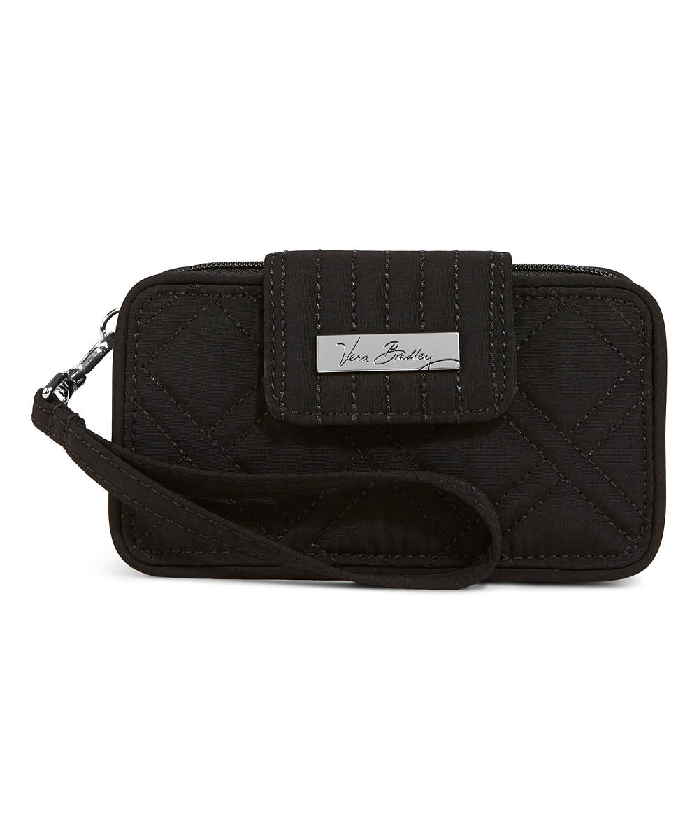 Classic Black Smartphone Wristlet for iPhone 6