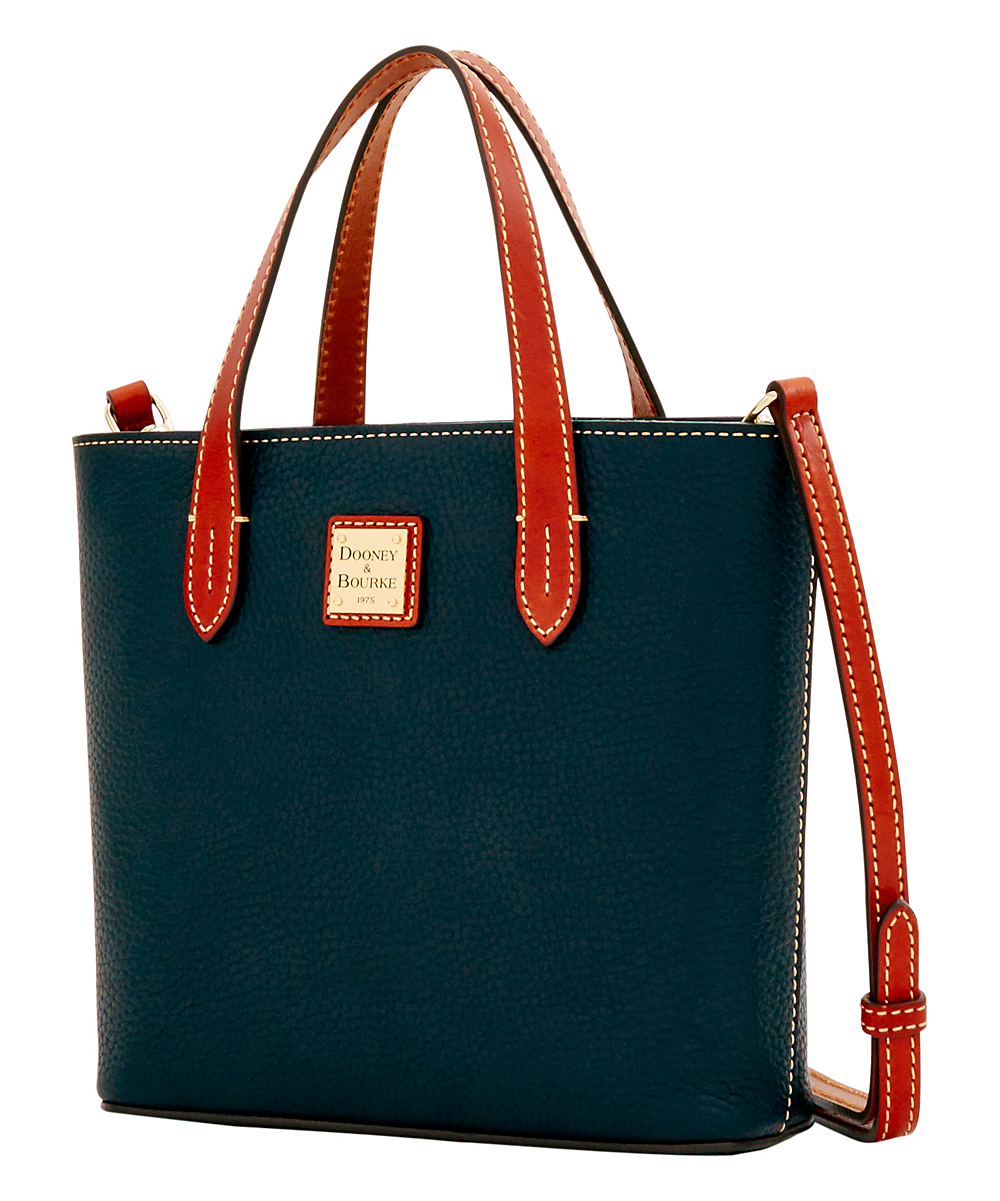 133a4eff1 Dooney & Bourke Black & Brown Mini Waverly Leather Shopper | Zulily
