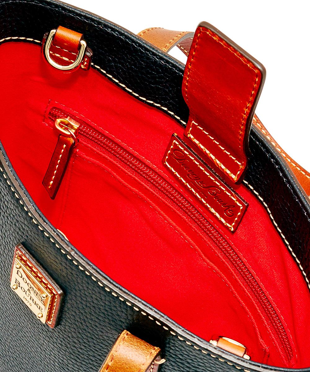 ab027de5d ... Womens Black Black & Brown Mini Waverly Leather Shopper - Alternate  Image ...