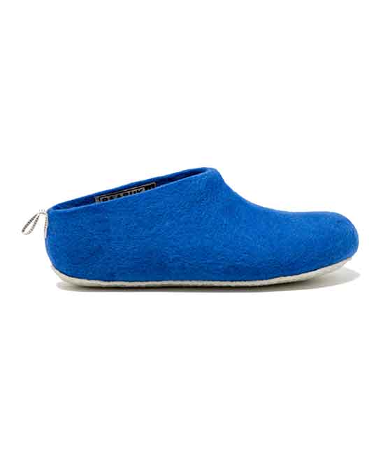 d7f3a7026 Baabuk Royal Blue Gus Wool Slipper - Adult | Zulily