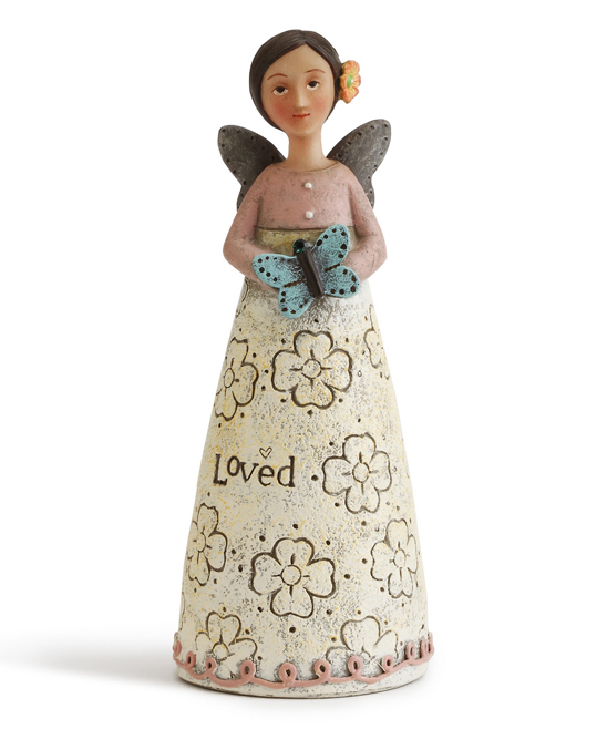 May Birthday 'Celebrate Beauty' Angel Figurine