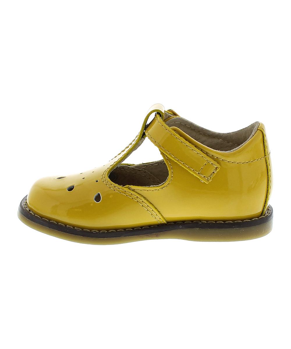 6bf073c707d1f ... Girls YELLOW PATENT Yellow Patent Harper Leather T-Strap Shoe -  Alternate Image 2 ...