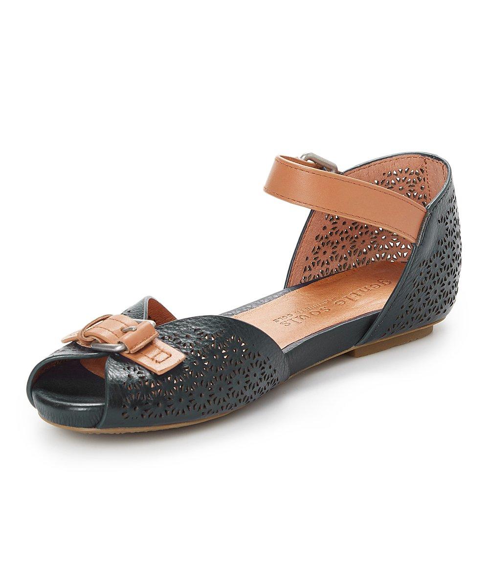 416493cf ... Womens BLACK Black Bessie Leather Sandal - Alternate Image 2 ...