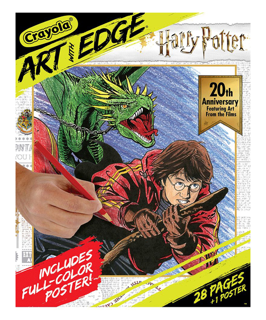 Harry Potter Art with Edge Coloring Pages
