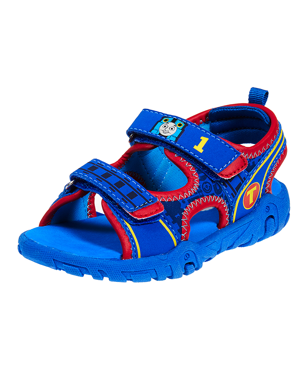 916a51dbf331d Esquire Footwear Thomas the Tank Engine Blue & Red Sandal - Boys