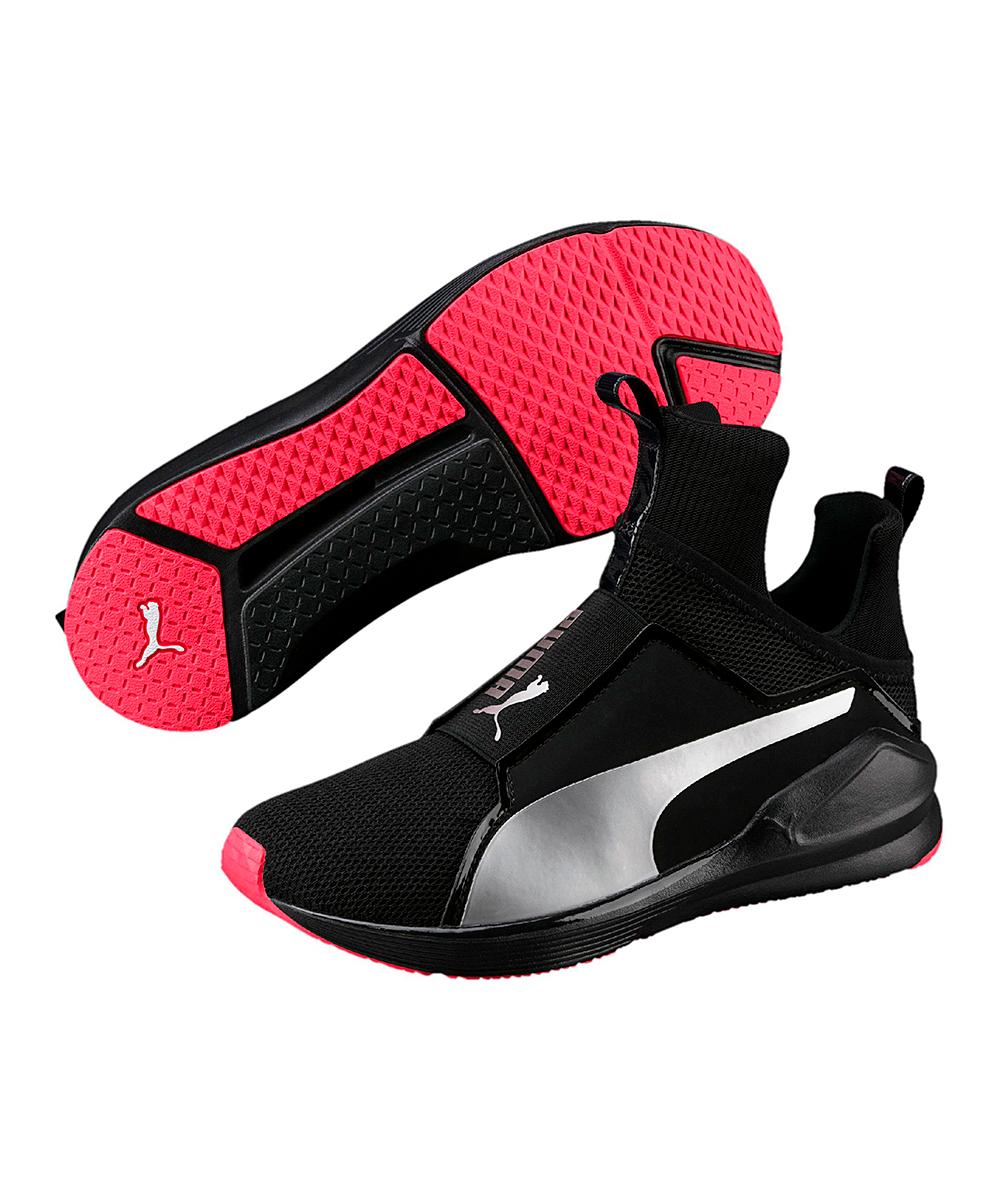 ae0ac514d8efae PUMA Black   Paradise Pink Fierce Core Training Shoe - Women
