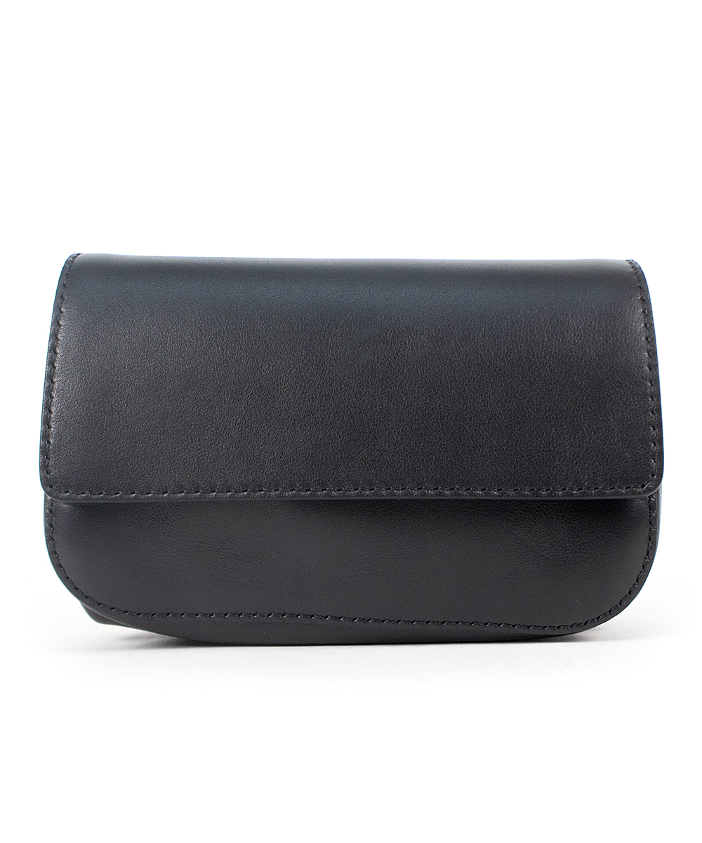 876390e4de16 Valentino Black Leather Belt Bag - Women