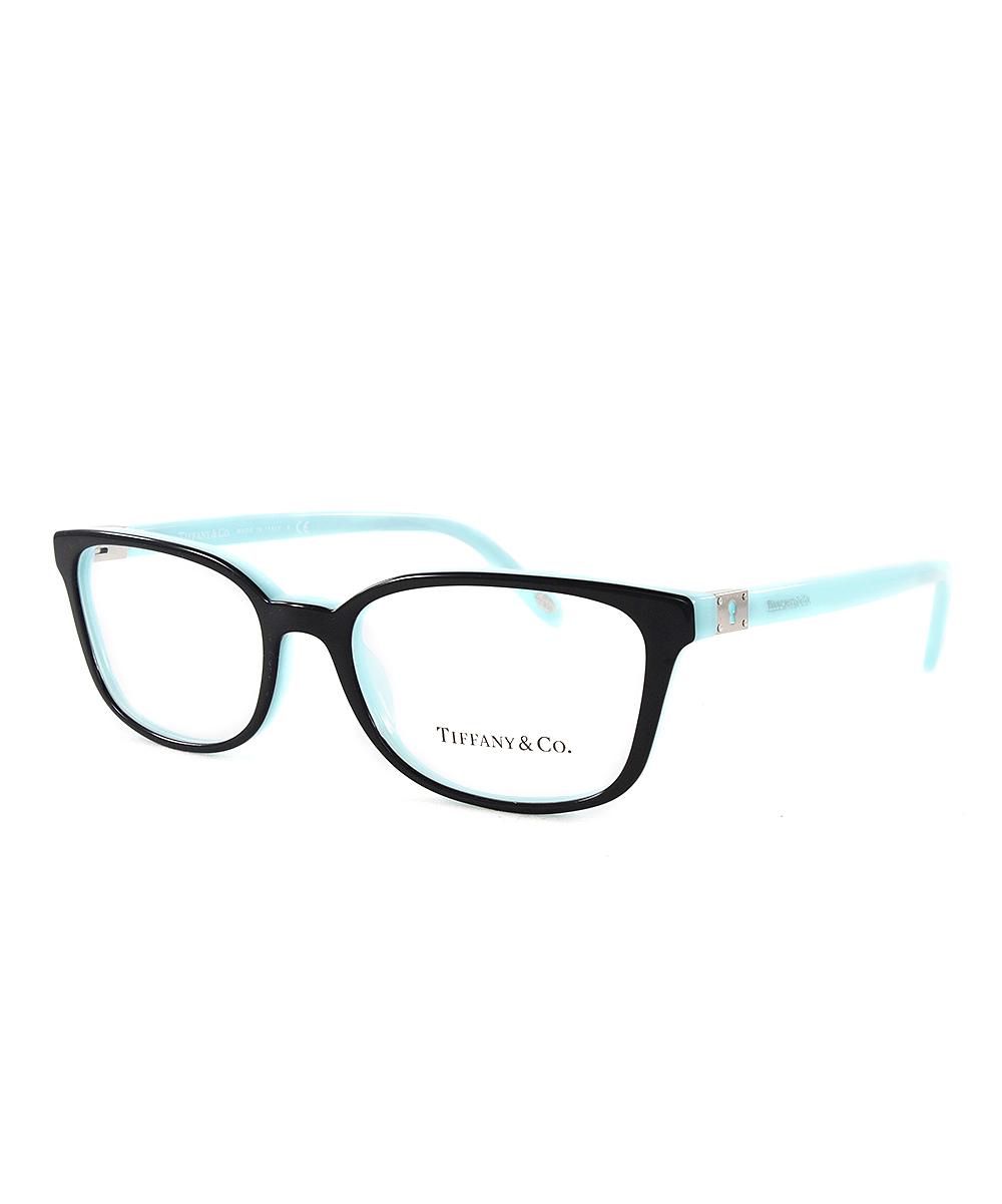 fdd1c5f7412 Tiffany   Co. Blue   Black Rectangle Eyeglasses - Women