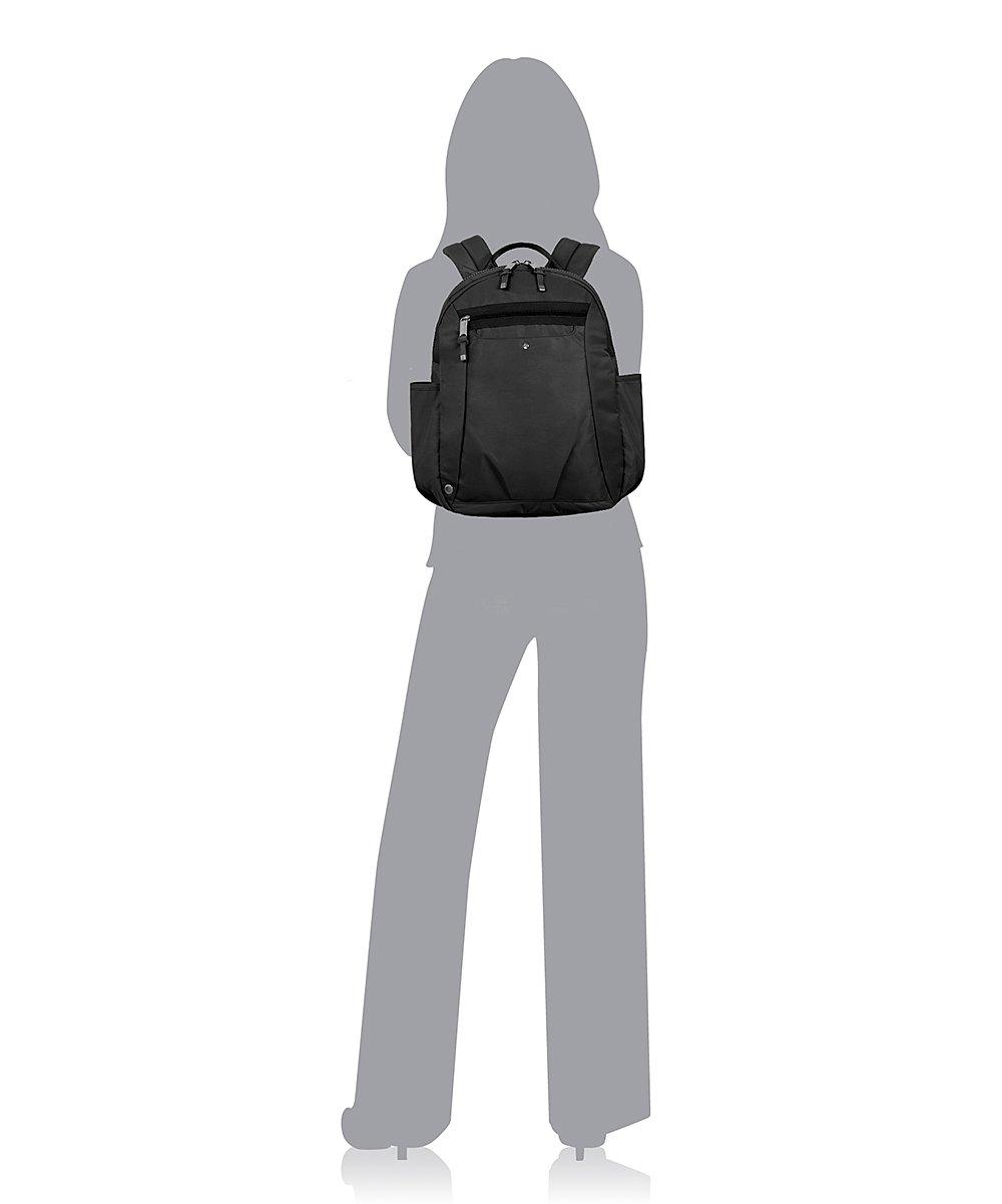 a130243d8059 ... Womens B0001 Black Black Gadabout Laptop Backpack - Alternate Image 4  ...