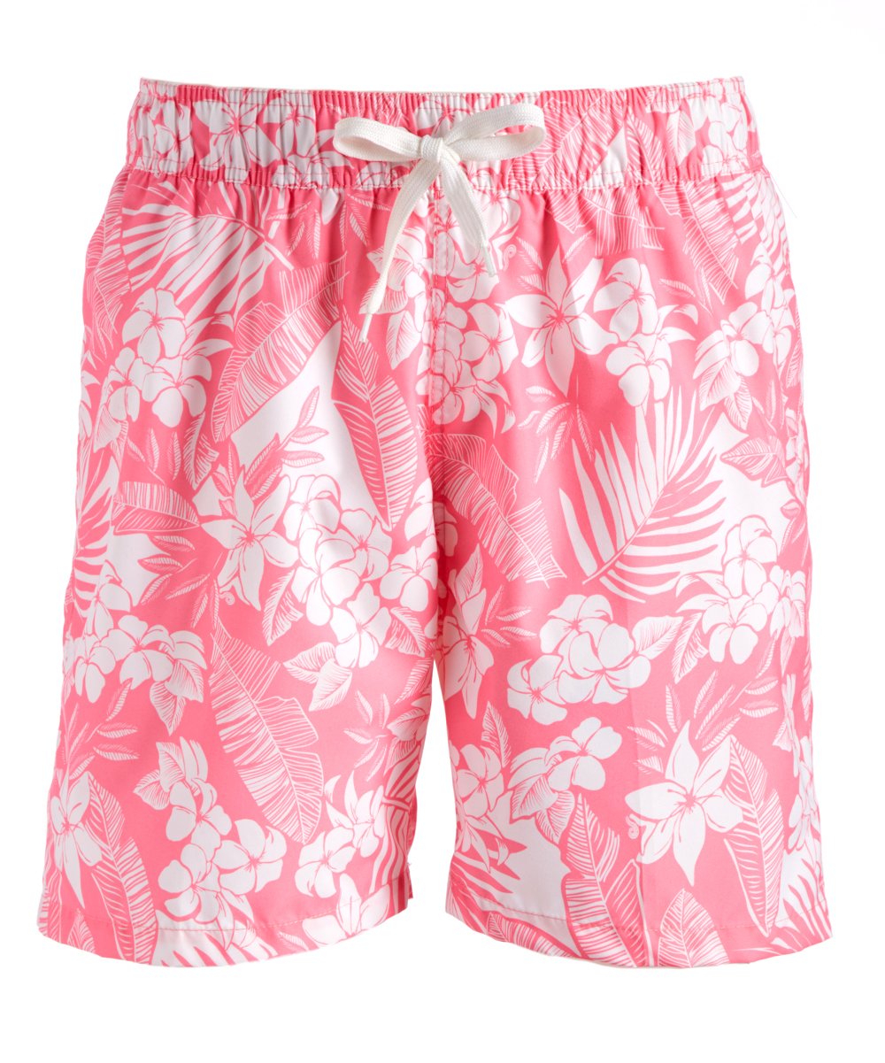 ffd2028ca0 Kanu Surf Pink Jake Floral Swim Trunks - Men | Zulily