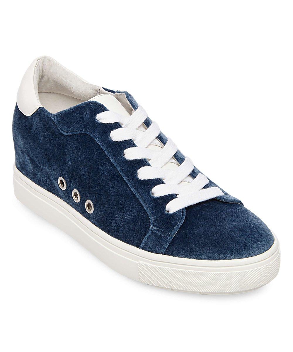 e60d217671c Steve Madden Blue Steal Velvet Sneaker - Women