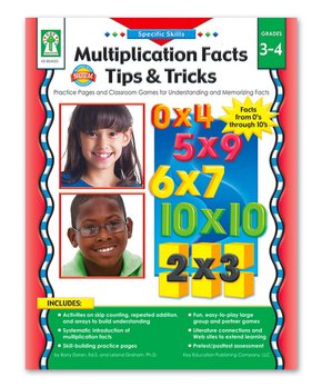 Carson-Dellosa Publishing Company | Grades 3-4 Multiplication Facts Tips & Tricks Resource Book