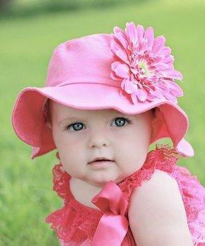 Jamie Rae Hats | Raspberry Daisy Sunhat