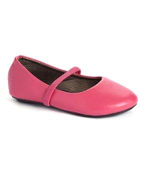 Ositos Shoes | Blue Stud Elastic-Strap Flat - Girls