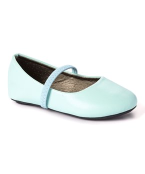 Ositos Shoes | Blue Studded Flat - Girls