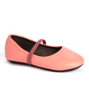 Ositos Shoes | Fuchsia Strap Ballet Flat - Girls