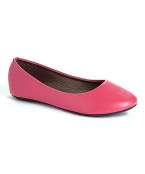 Ositos Shoes | Fuchsia Ballet Flat - Girls