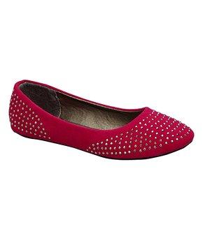 Ositos Shoes | Turquoise Stud Flat - Girls