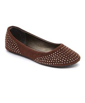 Zula Shoes | Light Gray Ankle-Strap Flat - Girls