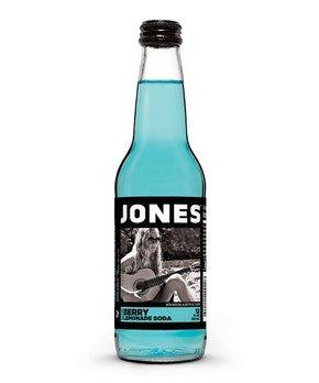 Jones Soda | Jones Berry Lemonade Cane Sugar Soda - Set of 12