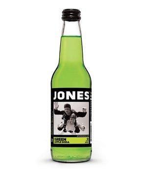 Jones Soda | Jones Green Apple Cane Sugar Soda - Set of 12
