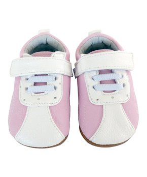 Jack & Lily   Pink Sporty Syah Leather Booties - Girls