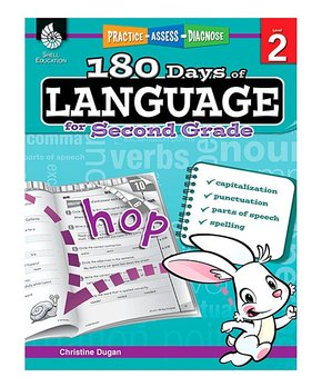Shell Education | 180 Days of Reading for Kindergarten Workbook & CD