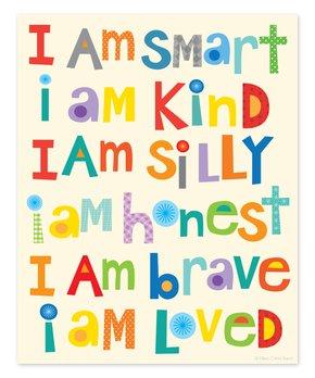 Ellen Crimi-Trent | 'I Am Smart' Print