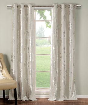 Lush Décor | Lilac Reyna Curtain Panel - Set of Two
