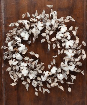 ZiaBella | Southern Cotton Wreath
