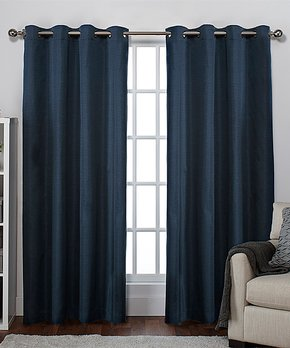 room blackout curtains navy blue all gone roomdarkening blackout curtains zulily