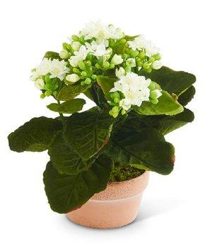 K&K Interiors | Burlap Floral Vase