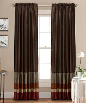 Lush Décor | White Reyna Curtain Panel - Set of Two