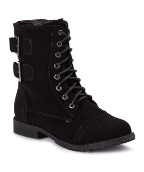 13ded4beaff Oh-So Cute in Combat Boots  Girls