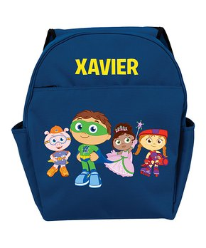 all gone. Super Why! Blue Personalized Toddler Backpack ebd771394b286