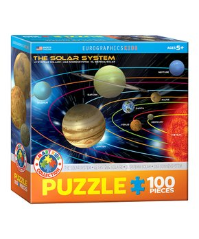 Eurographics | Large Solar System 100-Piece Puzzle