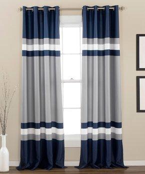 Lush Décor | Plum Prima Velvet Curtain Panel - Set of Two