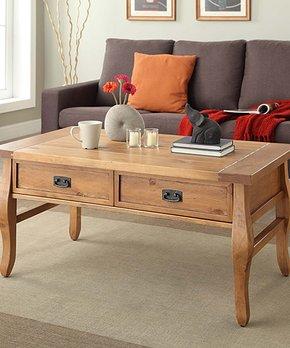 Linon Home   Santa Fe Coffee Table