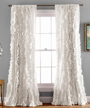 Lush Décor | Navy Prima Velvet Curtain Panel - Set of Two