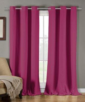 Duck River Textile | Emblem Cityscape Curtain Panel - Set of Two