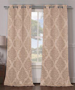 Duck River Textile | Emerald Bali Curtain Panel - Set of Two