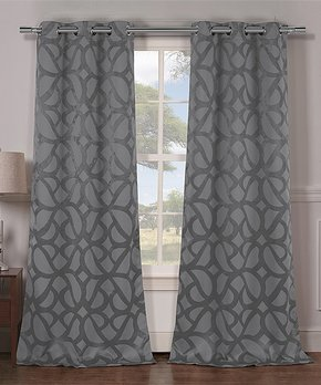 Duck River Textile | Chocolate Stephanie Blackout Panel - Set of Two