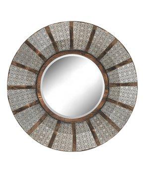 ELK   Nickel Pierced Metal Mirror