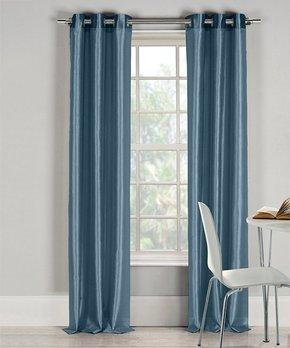 Duck River Textile | White Kylie Three-Piece Curtain Panel Set