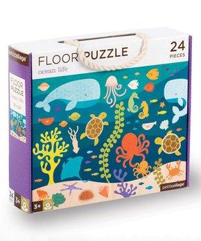 Petit Collage | Ocean Life 24-Piece Floor Puzzle