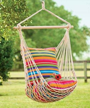 Plow & Hearth Rope Hammock Swing